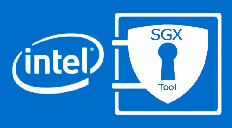 Logo intel SGX Tool