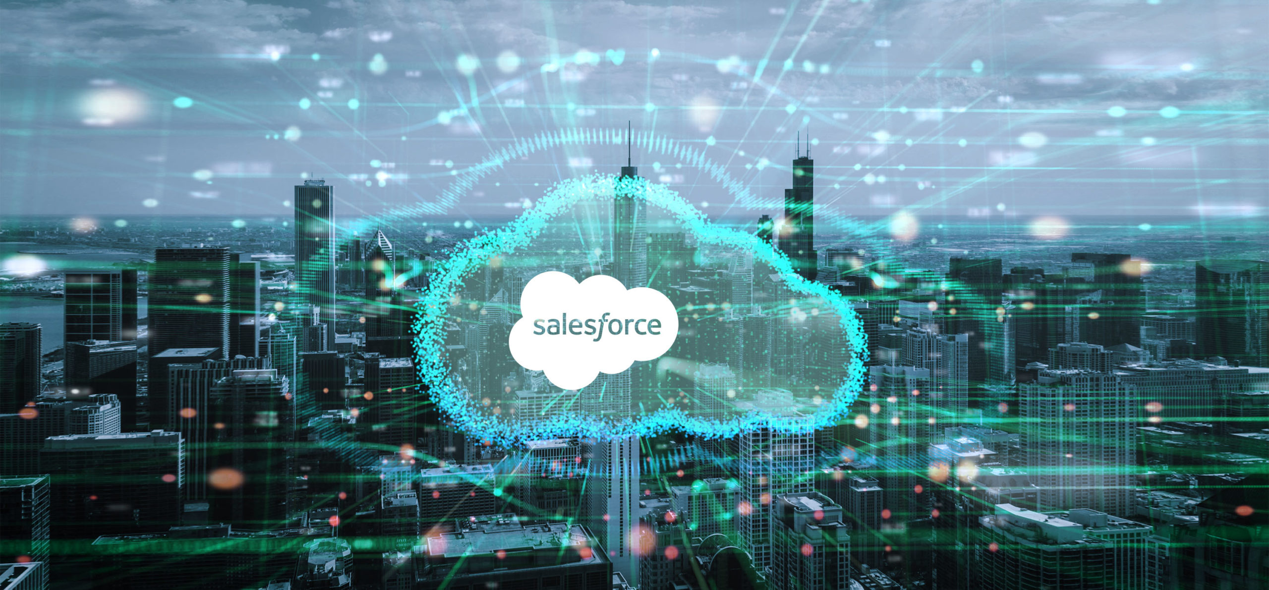 Picture shows City Salesforce in Cloud